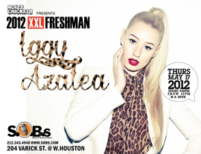 IGGY AZALEA, Presented by Noizy Cricket!!