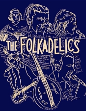The Folkadelics and Watermelon / Aboard THE HALF MOON/ 23rd St. & FDR Drive (East Side)