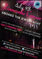 Independence Day Family Fireworks Cruise Aboard The Jewel Yacht