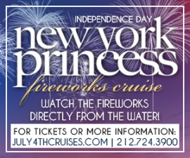 IndepenDANCE Day Fireworks Cruise Aboard The New York Princess