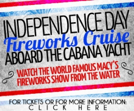 Independence Day Fireworks Cruise Aboard The Cabana