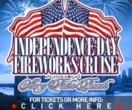 Independence Day Fireworks Party Aboard The Star of Palm Beach
