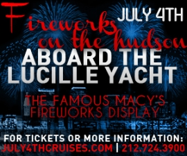 Independence Day Family Fireworks Cruise On The Lucille Yacht