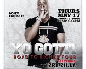 Yo Gotti, Zed Zilla Presented by Noizy Cricket!!