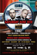 Statik Selektah & Termanology are 1982 - '2012' Album Release Party + special guests