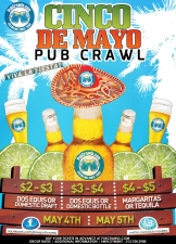 Cinco De Mayo Pub Crawl Bayridge