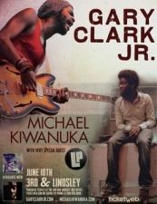 Gary Clark Jr. plus Michael Kiwanuka w/ L.P. SOLD OUT