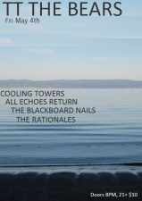 Cooling Towers / All Echoes Return / Blackboard Nails / The Rationales
