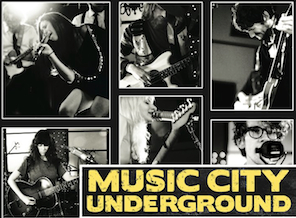 Music City Underground : Official Release Show ft. performances by Evan P. Donohue, The Electric Hearts, VITEK & more