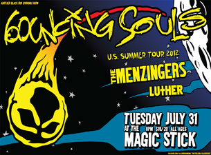 The Bouncing Souls featuring The Menzingers / Luther / PT's Revenge