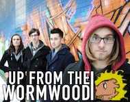Up From The Wormwood / Mike Golden & Friends / Audiobakery