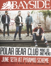 Bayside + Polar Bear Club + Make Do and Mend + Into It. Over It.