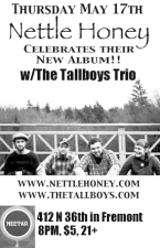 THE TALLBOYS with NETTLE HONEY (CD Release Show)