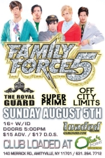 Family Force 5 featuring The Royal Guard / Superprime / Off City Limits