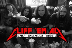 Dayle Gloria & Mike A. Presents : CLIFF EM ALL, Barbarian Overlords, Devil In Drag, and Black Magic Driver