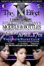 Risque Tuesdays Models and Bottles