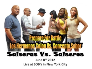 Concepto Sabor vs. Los Hermanos Colon featuring SALSA GROOVE