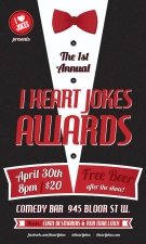 I Heart Jokes Awards Hosted By Rob Mailloux and Evan Desmarais