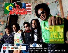 Samba Saturdays featuring BERIMBROWN