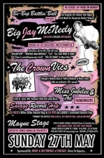 Be-Bop Battlin Ball Productions and Night & Day Vintage of Chicago PRESENT Big Jay McNeely Featuring The Crown Vics, Miss Jubilee & The Humdingers, Savage Record Hop feat. DJ's Rico & Vito, MC'd by Ken Mottet
