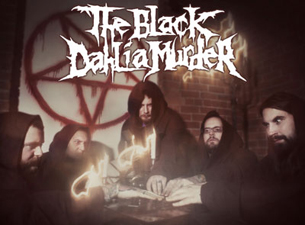 The Black Dahlia Murder with Irukandji , Delusions of Grandeur , Pastor