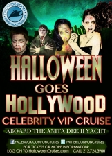 Halloween Goes Hollywood VIP Cruise Aboard The Anita Dee II Yacht