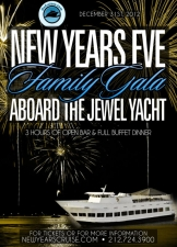 2013 New Years Eve Family Fireworks Gala Aboard The Jewel Yacht
