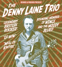 Denny Laine Trio - Founding member of WINGS and the MOODY BLUES