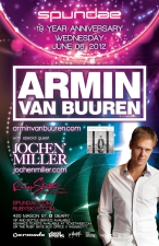 SPUNDAE 19 YEAR ANNIVERSARY featuring ARMIN VAN BUUREN and Jochen Miller
