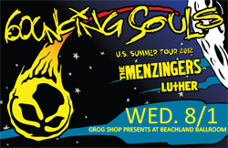 Bouncing Souls / The Menzingers / Luther / Craic