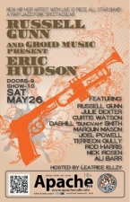 Russell Gunn and Groid Music present: Eric Hudson