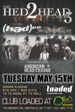Hed PE plus Mushroomhead / American Head Charge