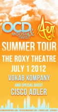 TheKollection Presents: Aer/OCD with Vokab Kompany / Special Guest: Cisco Adler