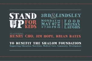 Stand Up For Kids featuring Henry Cho, Jim Hope, Brian Bates