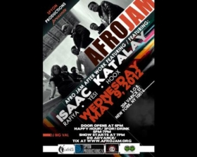 AFRO JAM featuring ISAAC KATALAY DIALLO & THE LIFE LONG PROJECT, RAFIYA, YESI, HOOX