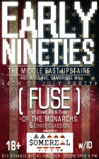 Early Nineties , Fuse , Of The Monarchs , Classiqk