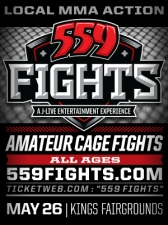 559 Fights #2 Live MMA in a Cage!