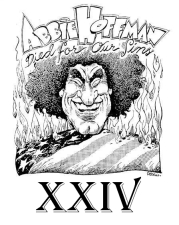Abbie Hoffman Died for Our Sins Festival XXIV : Weekend Pass