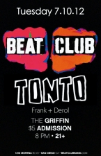 Beat Club : Frank and Derol : Tonto