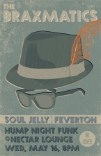 FREE FUNK featuring FEVERTON / BRAXMATICS / SOUL JELLY