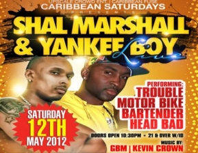 Shal Marshall & Yankee Boy, CARIBBEAN SATURDAYS