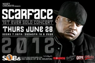SCARFACE, Presented by Noizy Cricket!! x The Source x Baller's Eve x Allhiphop x OGPR