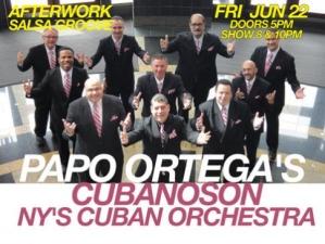Salsa Groove feat Papo Ortega's CubanoSon