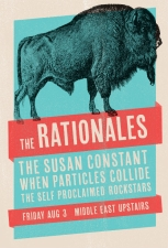 The Rationales , The Self-Proclaimed Rockstars , The Susan Constant , When Particles Collide