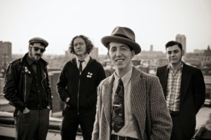 Pokey LaFarge and the South City Three plus Alialujah Choir (Adam Shearer & Alia Farah of Weinland with Adam Selzer of Norfolk & Western)