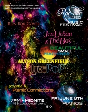 ROC-ELLE RECORDS FEST featuring Jen Urban & the Box featuring Beautiful Small Machines / Alyson Greenfield / Luxe Pop