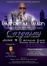 Vincent M. Ward Eargasms: Dont TalkJust Listen Album Release Party/Meet and Greet