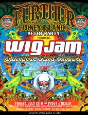 FURTHUR Coney Island After-Party featuring Wigjam: A Grateful Dead Tribute