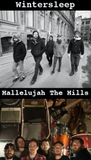 Wintersleep plus Hallelujah The Hills / The Safeties, In association with the Grog Shop