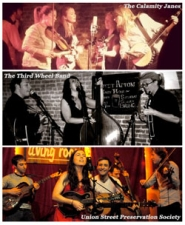 BROOKLYN OLD-TIME BLUEGRASS PARTY EXTRAVAGANZA: ROUND 3 featuring The Calamity Janes / Union Street Preservation Society / The Third Wheel Band
